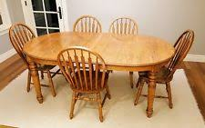 Solid Oak Dining Tables And Chairs Oak Table And Chairs Ebay