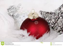 and silver ornaments stock image image of tradition