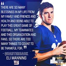 new york giants on eli manning thehumble 21 and