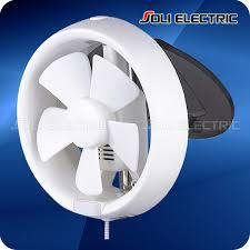 Inch Round Bathroom Window Mounted Exhaust Fan Full ABS - Bathroom fan window 2