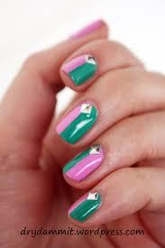 australis indie u0026 australis k pop colour block nail art from the