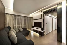 Zen Home Design Singapore by Hdb 4 Rooms