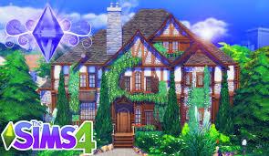 the sims 4 house building heather u0027s tudor cottage youtube