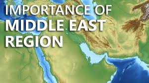 Middle East Geography Map by Why Is The Middle East So Important Learn Geography Resources