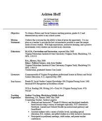Faculty Resume Sample Teaching Resume For Experienced Teacher Free Resume Example And
