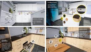 kitchen furniture catalog ikea vr app uses an htc vive to design your kitchen slashgear