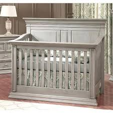 grey baby cribs cache vienna 4 in 1 convertible crib ash gray with