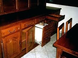 meuble cuisine modulable table haute bois et metal cuisine bois metal meuble de cuisine bois