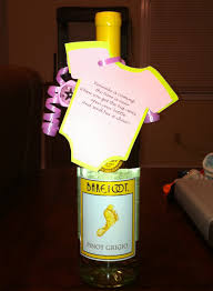 baby showers favors wine bottle baby shower favors the guests aren t