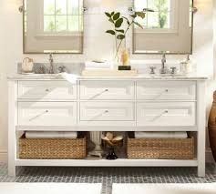 pottery barn bathroom vanity with important images as inspiration