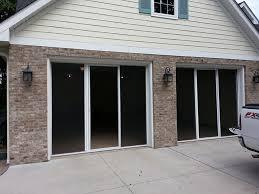 single garage screen door henderson garage doors screens retractable fluidelectric