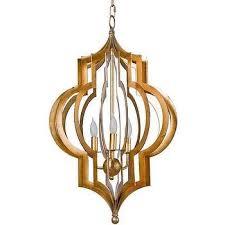 Gold Leaf Chandelier Regina Andrew Pattern Makers Gold Leaf Chandelier Look For Less