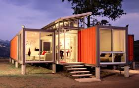 turning shipping containers into homes in a container home