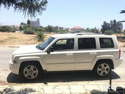 white jeep patriot back jeep patriot 2009 suv 2 0l diesel manual for sale limassol
