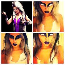 Skarlet Mortal Kombat Halloween Costume Sindel Mortal Kombat Mortal Kombat Makeup