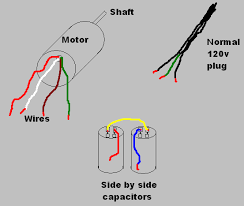 help w single phase ac motor wiring not hw physics forums