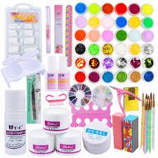 popular full acrylic nail buy cheap full acrylic nail lots from