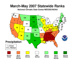 Drought may 2007 state of the climate national centers for