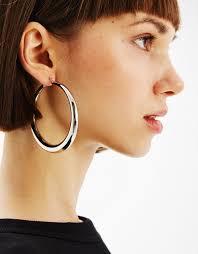 large hoop earrings large hoop earrings jewellery bershka