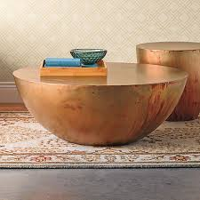 Copper Side Table Copper Kettledrum Side Table Gump U0027s