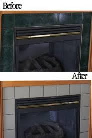 Paint Tile Fireplace by How To Paint Tile Easy Fireplace Paint Makeover Painted Tiles