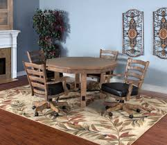 Convertible Dining Room Table by Convertible Poker U0026 Dining Table Puebla By Sunny Designs 1006dw