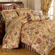 Waverly Kitchen Curtains by Bed U0026 Bedding Beautiful Waverly Bedding For Cozy Bedroom