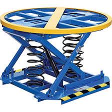 Pallet Lift Table by Scissor Lifts U0026 Lift Tables Pallet Carousels Rotators U0026 Skid