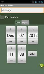 android reminder app create an elegantly designed reminder alarm clock application