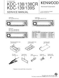 kenwood car stereo wiring diagrams kdc x395 gm radio wiring color