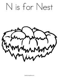 nest coloring twisty noodle