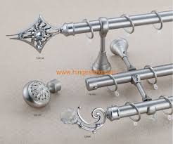 Finials For Curtain Rod Modern Curtain Rod Brackets U0026 Curtain Finials For Bathroom Window