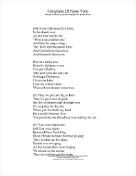 New Lyrics Fairytale Of New York Sheet By The Pogues Kirsty Maccoll