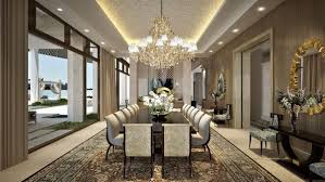 Very Nice Furniture Design For Contemporary Dining Room The White - Luxury dining rooms