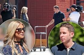 Tarek And Christina El Moussa by Christina El Moussa U0026 Tarek Reunite To Film Show After Split