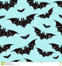 cute halloween pattern background seamless cute background with bats stock vector image 78150437