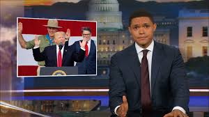 Vanities Monologue Inspired By Trump U0027s Deranged Speech Colbert Writes New Boy Scout