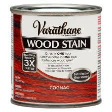 varathane 1 2 pt 3x cognac premium interior wood stain 271137