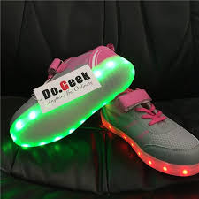Kids Light Up Shoes Dogeek Kids Led Shoes Mesh Kids Light Up Shoes 8 Colors Flash