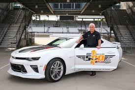 first chevy 2017 chevrolet camaro ss 50th anniversary to pace indianapolis 500