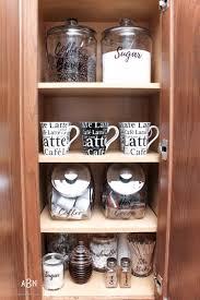 Cabinet Organization Ideas Coffee Cabinet Organization Tips Free Printables