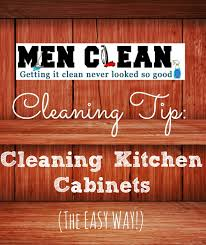 cleaning kitchen cabinets how to clean kitchen cabinets clean