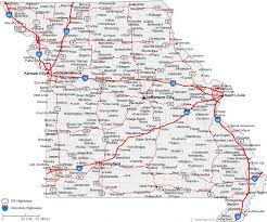 cities map map of missouri cities missouri road map