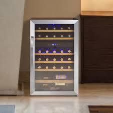 allavino 29 bottle cascina dual zone freestanding wine cooler