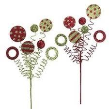 christmas picks raz peppermint lollipop set of 2 2 assorted styles of