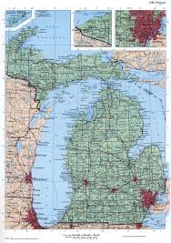 State Of Michigan Map by Michigan Mapfree Maps Of Us