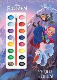 frozen thrills u0026 chills deluxe paint box book 4 41 reg