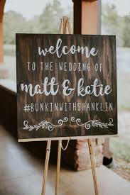 the smarter way to wed wedding wedding signage and weddings