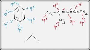 how to find hybridization of carbon atoms hindi youtube