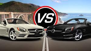 mercedes amg sl550 2016 mercedes sl550 vs amg sl63 spec comparison
